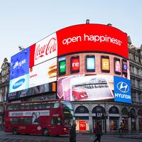 Lekapcsolták London ikonikus hirdetőtábláját
