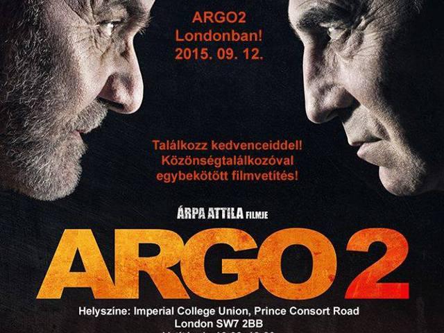 Árpa Attila és az ARGO 2 Londonban!