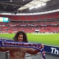 Angol-német női derbi a Wembleyben