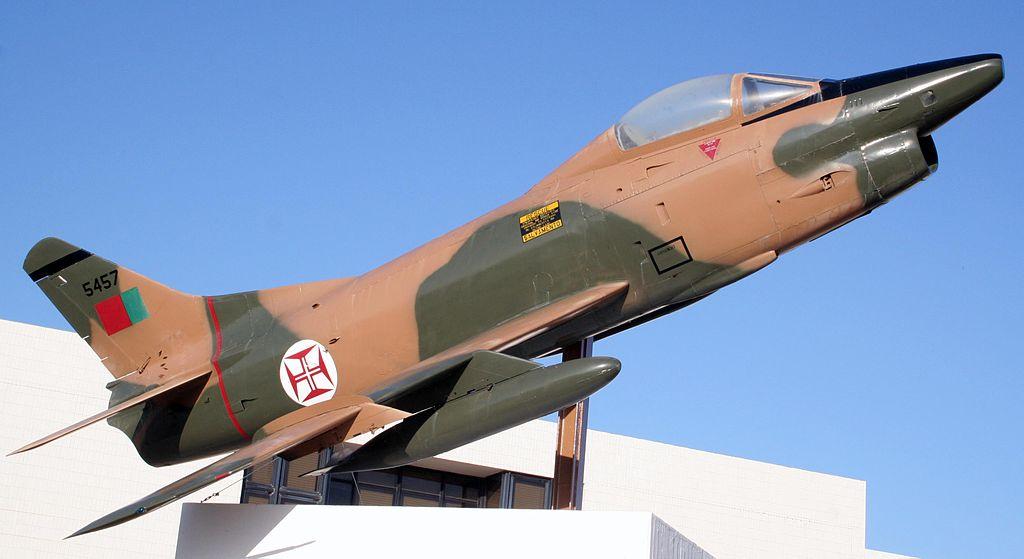 A Fiat G.91-es harci repülőgépe a portugál gyarmati légierő igáslova volt az összecsapások során. (forrás: Wikipedia)