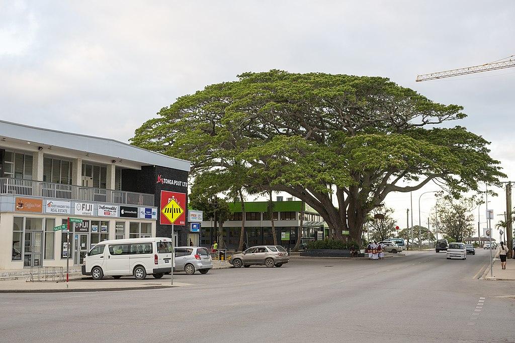Nuku'alofa városközpontja. (forrás: Wikipedia)