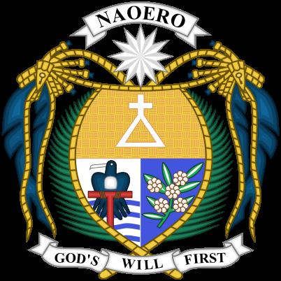 Nauru címere. (forrás: Wikipedia)