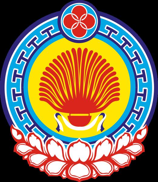 Kalmükföld címere. (forrás: Wikipedia)