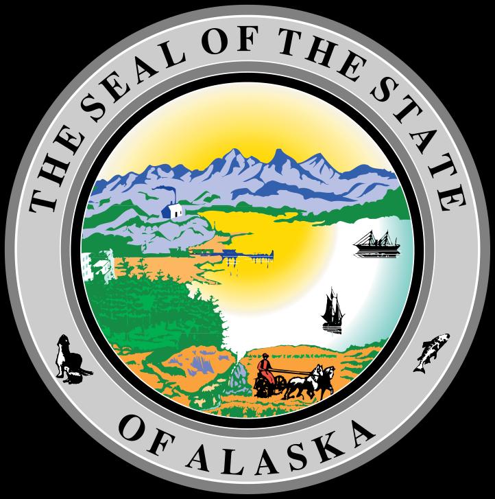 Alaszka címere. (forrás: Wikipedia)