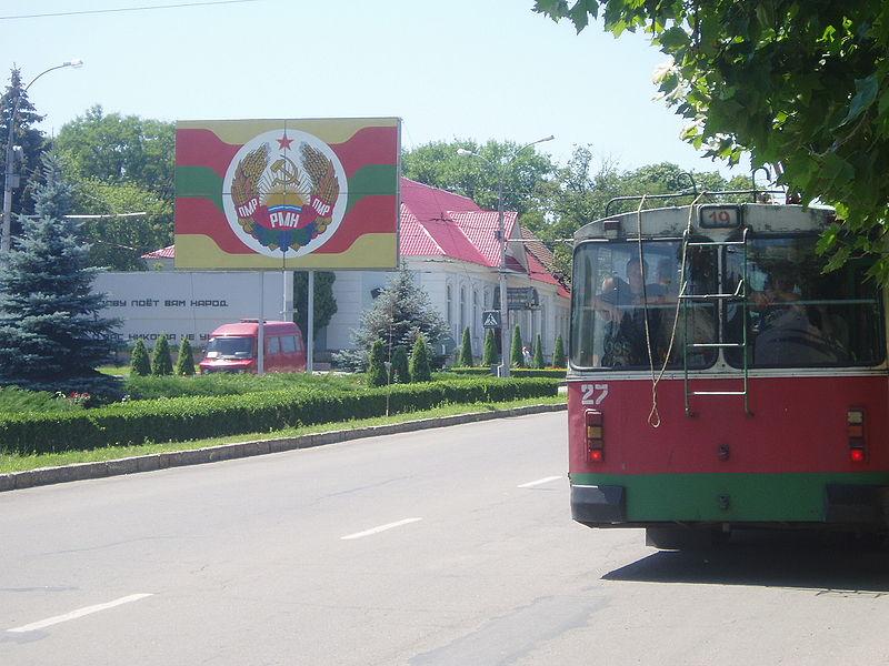 Tiraszpoli utcakép. (forrás: Wikipedia)