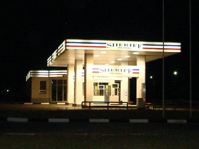 A Sheriff vállalat egyik benzinkútja. (forrás: Wikipedia)