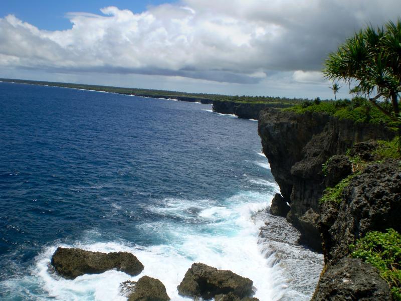Sziklás partvidék. (forrás: Wikipedia)