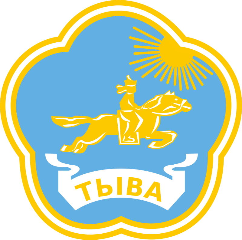 Tuva címere. (forrás: Wikipedia)
