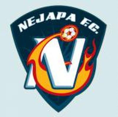 A salvadori első osztályban szereplő Nejapa FC logója - vajon honnan meríthették az ihletet? (forrás: Wikipedia)