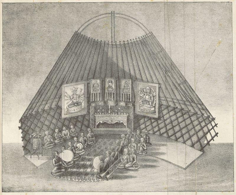 nevedjev_1833_p307_kalmyk_people_in_a_buddhist_ceremonie.jpg