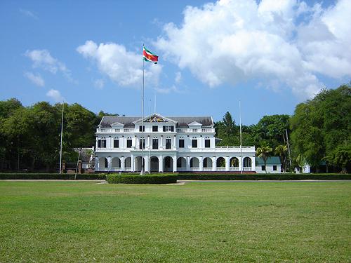 Az elnöki palota. (forrás: Wikipedia)