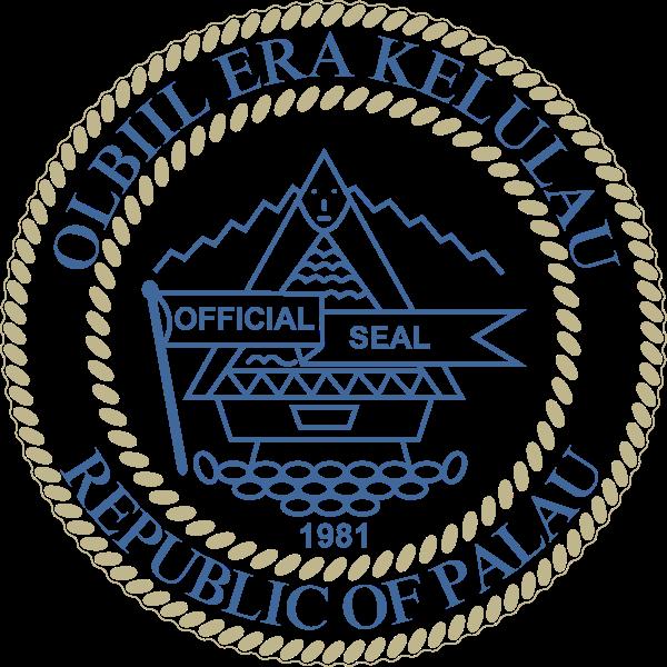Palau címere. (forrás: Wikipedia)