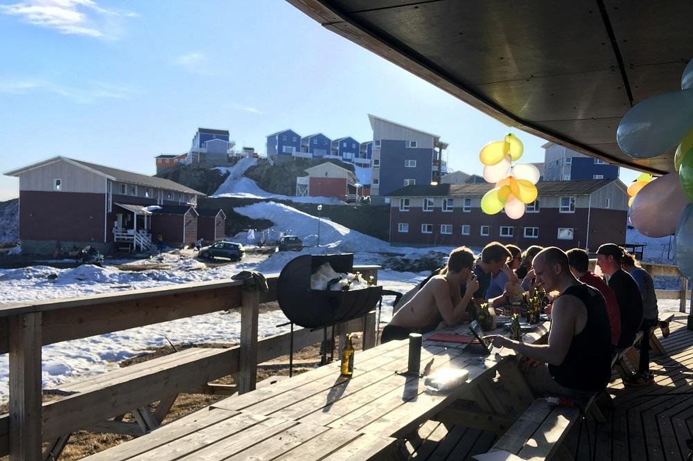 A honvágy megnyilvánulásai Grönlandon