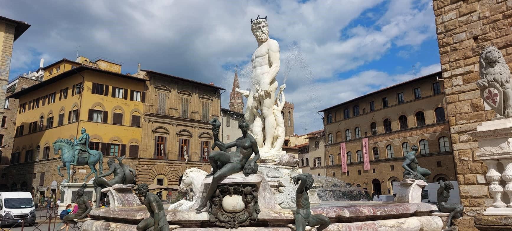 Firenzében zajlik az élet