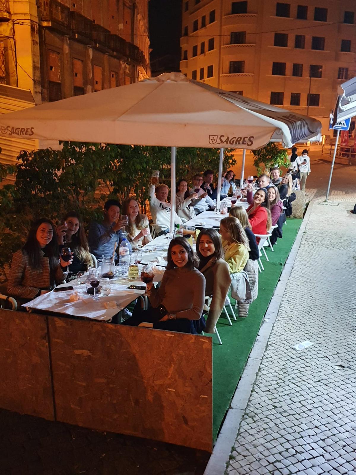 Hallgatói közösség Lisszabonban