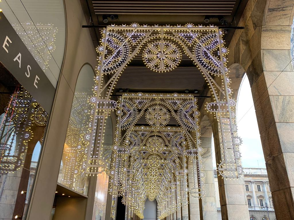 Karácsonyi hangulat Milánóban