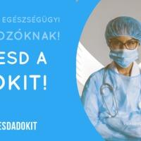#Etesdadokit - Jótékonysági akció az egészségügyi dolgozók támogatására