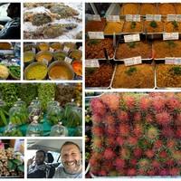 Piacozás Thaiföldön a világ 7. legjobb éttermének séfjével és a világ legbüdösebb gyümölcsével