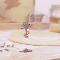 Mézeskalácson korcsolyázó rénszarvas - recepttel