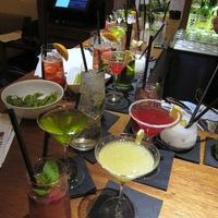Koktélverseny a perui-japán étteremben