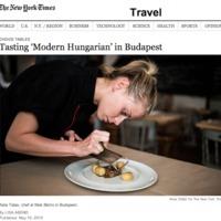 Budapesti éttermek a New York Times-ban