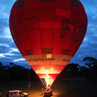 Amazing Hot Air Balloon flight over Melbourne