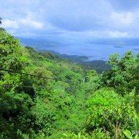 Canopy az Arenal vulkánnál (videó)