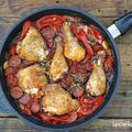 Baszk csirke chorizóval (recept és videó!)