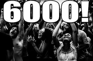 6000!