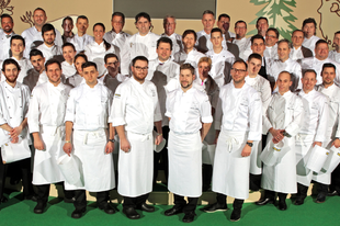 Working as MC for the Bocuse d'Or