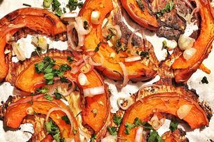 A legfinomabb sütőtök - chilis, salottás, citromos, friss korianderes