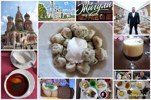 Világevő Orosz Vacsora! Korlátozott helyekkel.