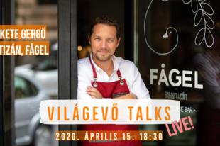 Világevő Talks: videóinterjú az egyik legmenőbb magyar pékkel