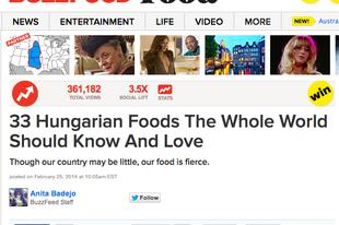 Nyilván hozzád is eljutott a 33 magyar kaja a Buzzfeeden. De ki írta és miért?
