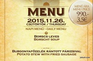 Bárcsak vicc lenne ez az 'olasz' menü Budapesten...