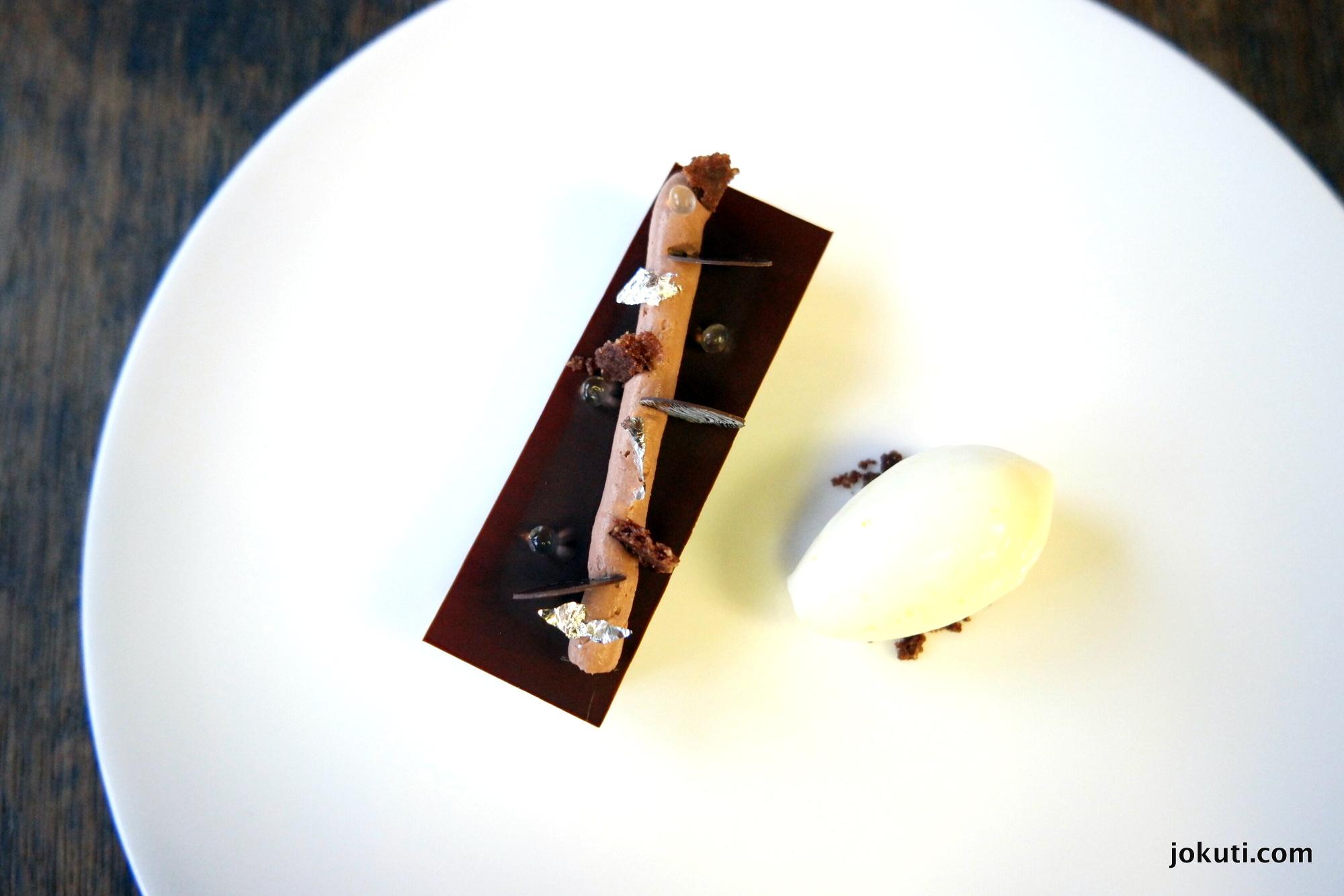 Egzotikus csokoládé yuzuval