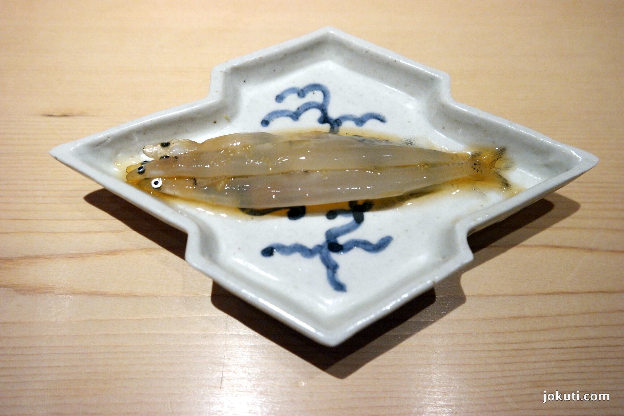 Shirauo ('Japanese anchovies' or ice fish).