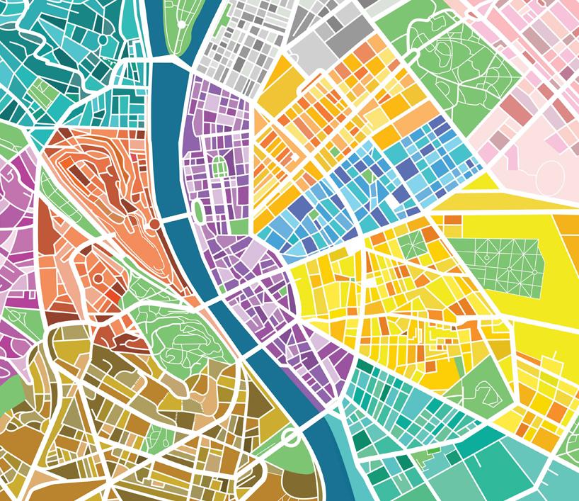 budapest digitális térkép Annyira menő Budapest térképet talált fel egy magyar tervező, hogy  budapest digitális térkép