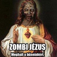 Judeo-kereszténység erkölcsi elítélése. Zombi Jézus