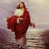Kiszínezett Jézus