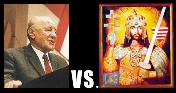 Kádár vs I.István király.JPG