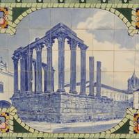 Evora történelmi központja - Portugália