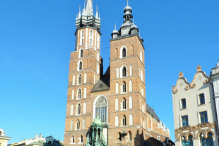Krakkó óvárosa (Lengyelország)
