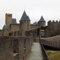 Carcassonne középkori erődvárosa