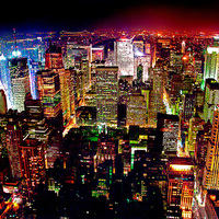 Manhattan éjjel-nappal mozgásban