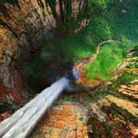 360° panorámafelvételek a világ legmagasabb vízeséséről