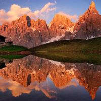 Tükröződő hegyek