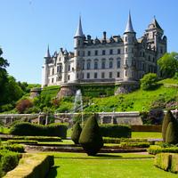 Dunrobin kastély - a Sutherland grófok rezidenciája