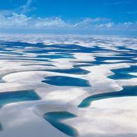 Maranhão lepedői - homokdűnék és lagúnák