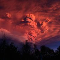 Vulkánkitörés Chileben